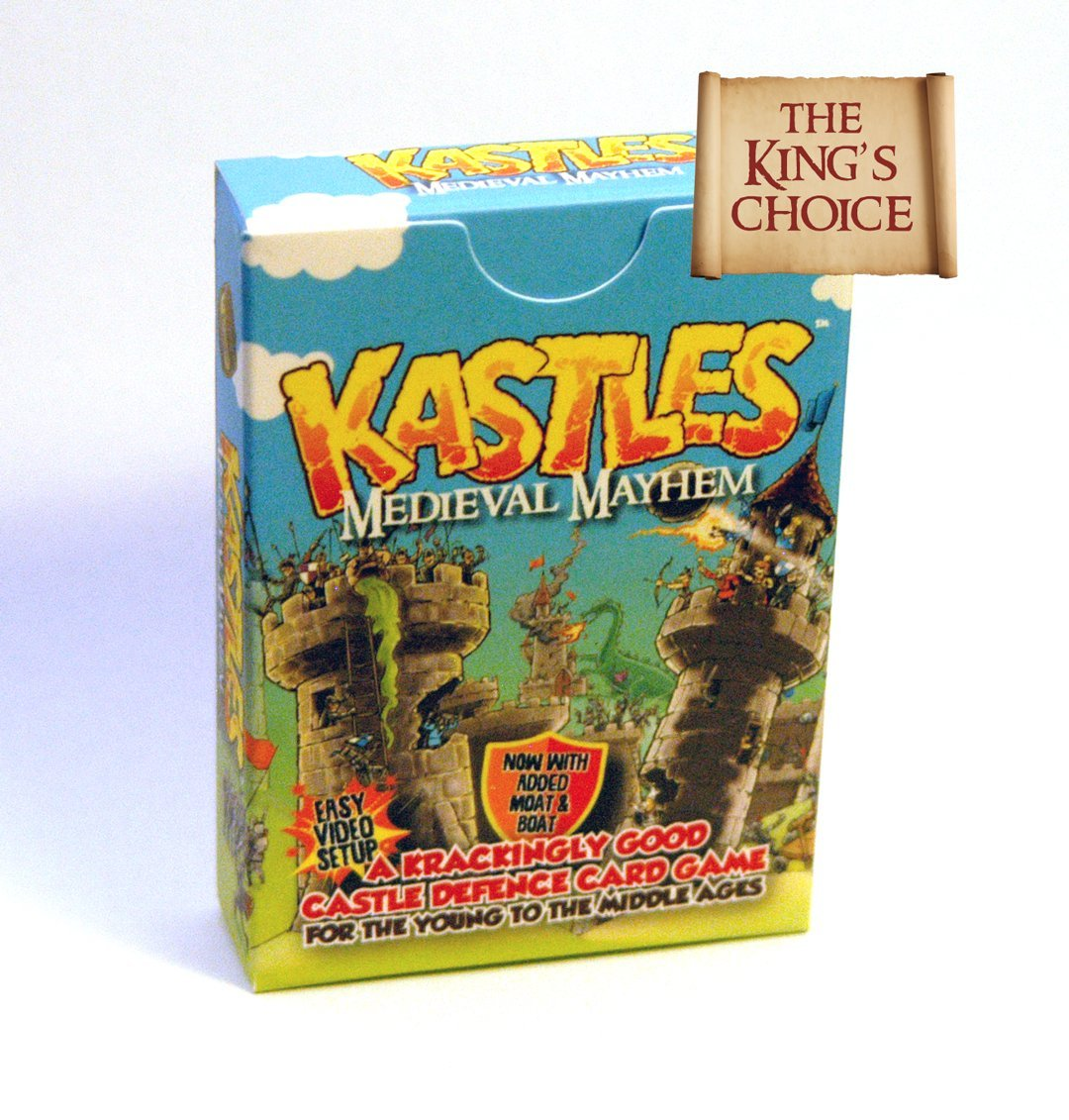 kastles the card game by gunpowder studios