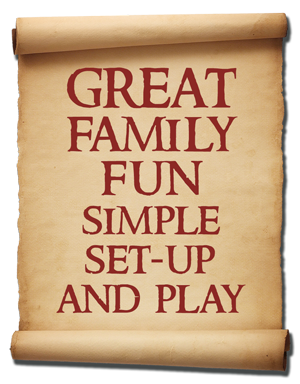 Great family fun, simple setup and play