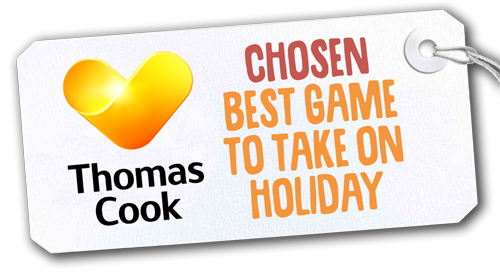 chosen best game to take on holiday by thomas cook