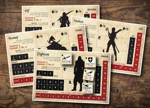 bag of dungeon character cards