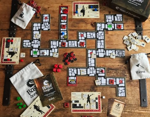 bag of Dungeon - a fantasy adventure board game