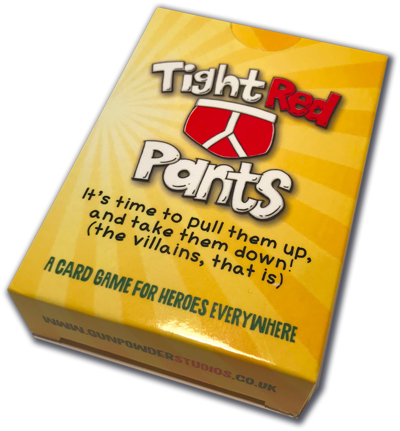 tight red pants the card game