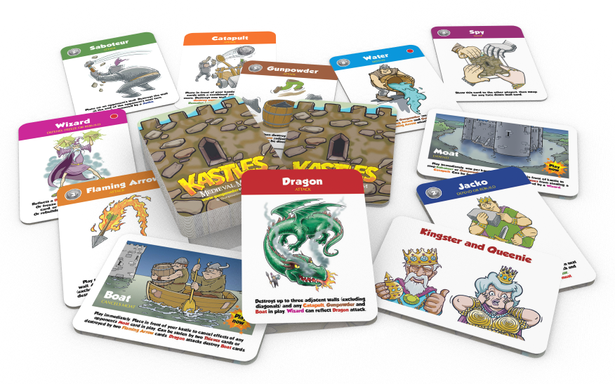 kastes card game cards