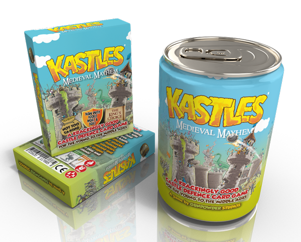 kastles family card game for toy shops and wholesale