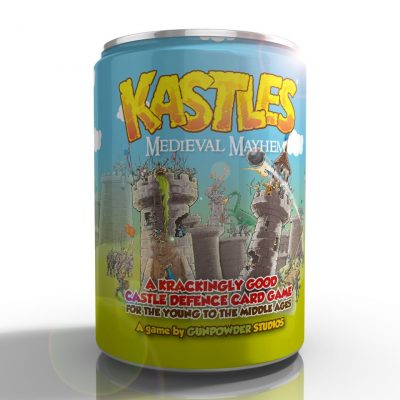 kastles card game deluxe edition in a tin