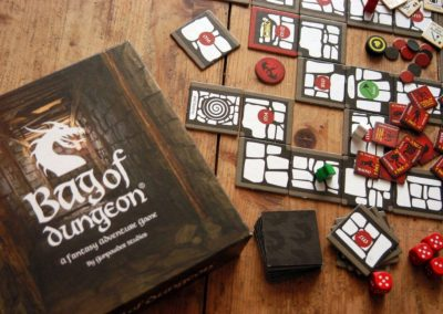 bag of dungeon board game