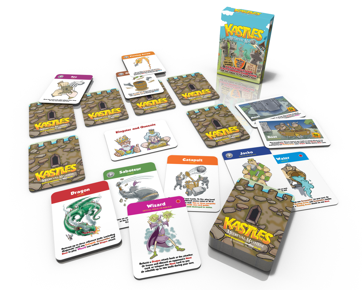 kastles card game best game to take on holiday