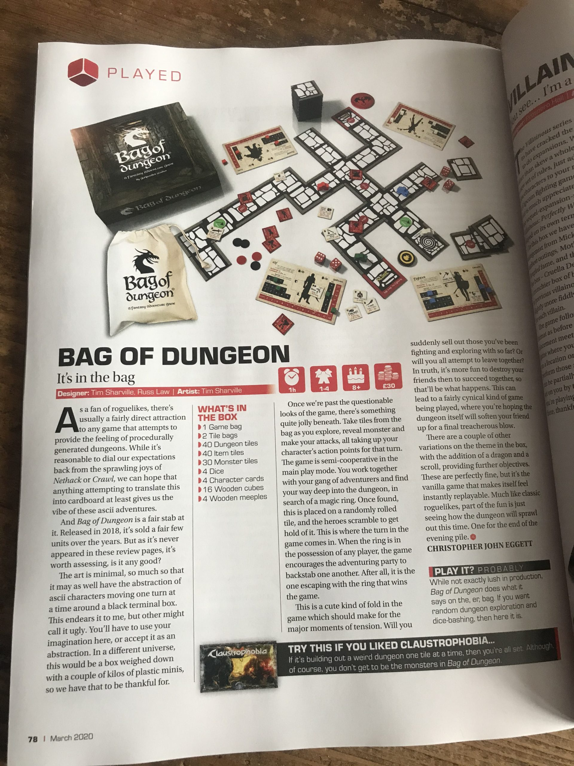 bag of dungeon review