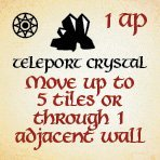 bag of dungeon - teleport crystal