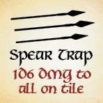 bag of dungeon - spear trap
