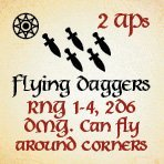 bag of dungeon - flying daggers