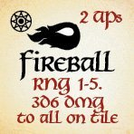 bag of dungeon - fireball