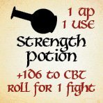 bag of dungeon - strength potion