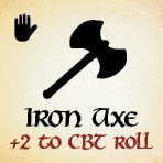 bag of dungeon - iron axe