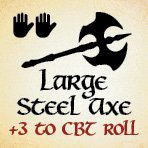 bag of dungeon - large steel axe