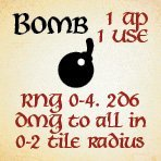 bag of dungeon - bomb