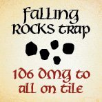 bag of dungeon - falling rocks trap