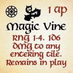 bag of dungeon - magic vine
