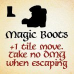bag of dungeon - magic boots