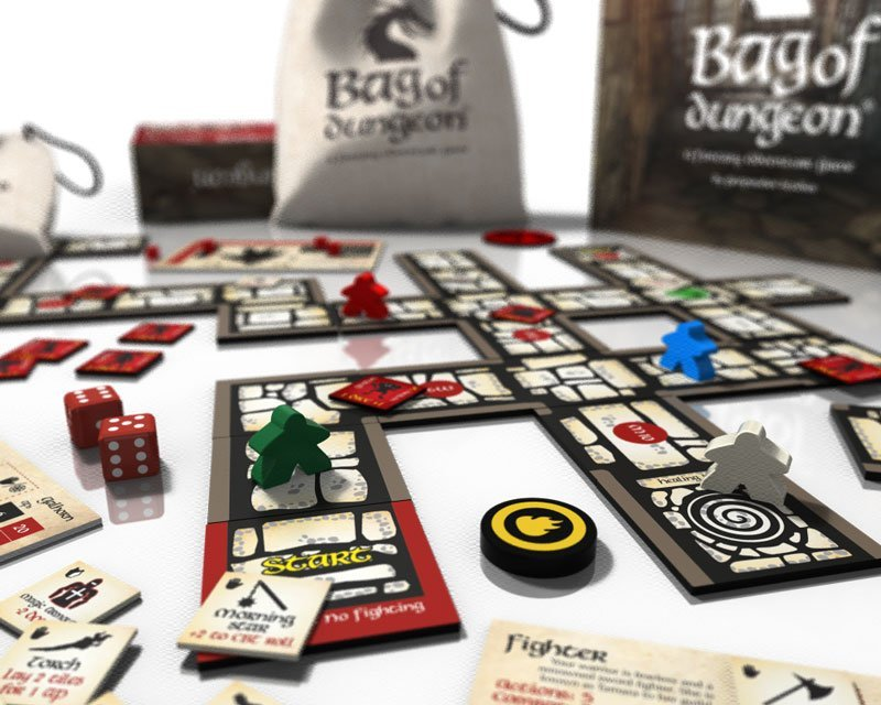 bag of dungeon a fantasy adventure board game
