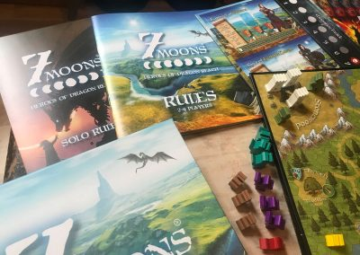7 moons - Heroes of Dragon Reach a fantasy adventure game for 1-4 players
