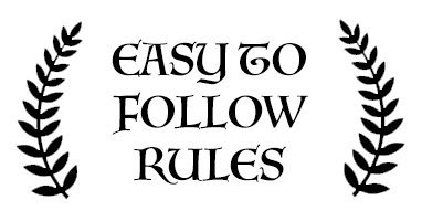 easy to follow rules