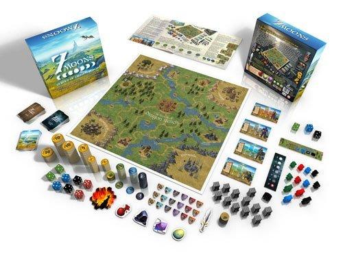 7 Moons: Heroes of Dragon Reach fantasy board game
