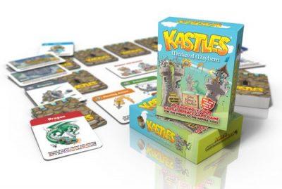 kastles castle defence card game