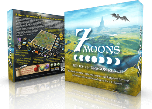 7 Moons: Heroes of Dragon Reach the board game