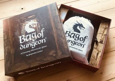 bag of dungeon comes in a handy box